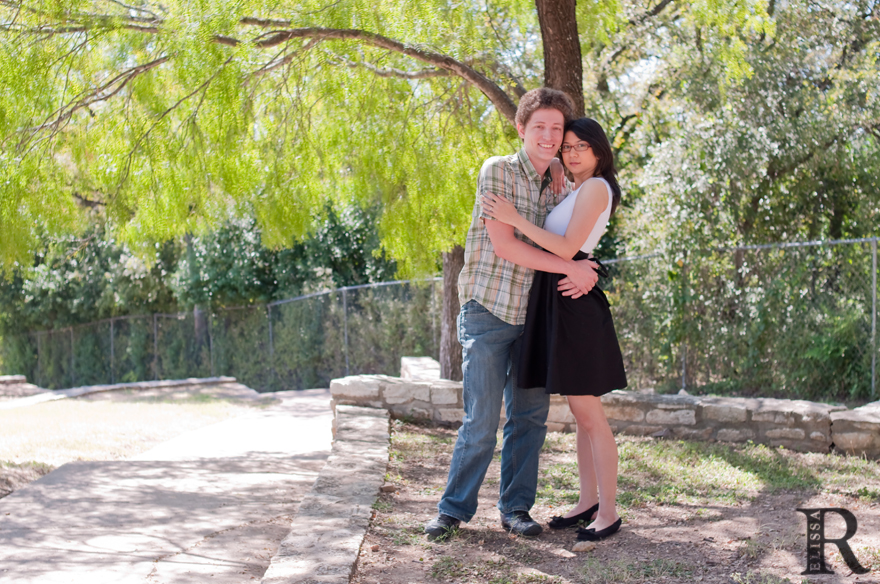 happy couple husband wife austin anniversary photos