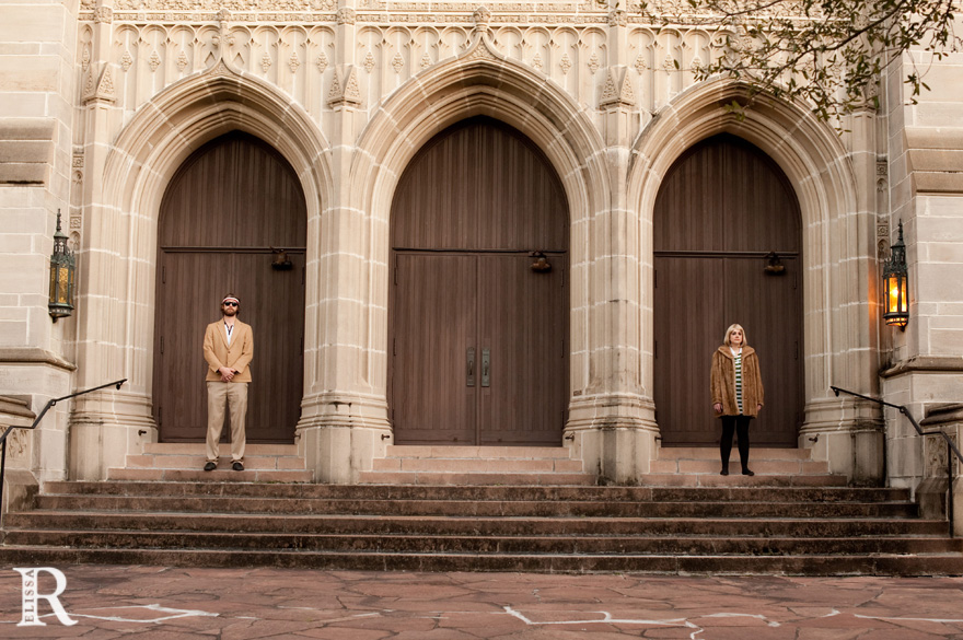 houston engagement session in the style of the royal tenenbaums