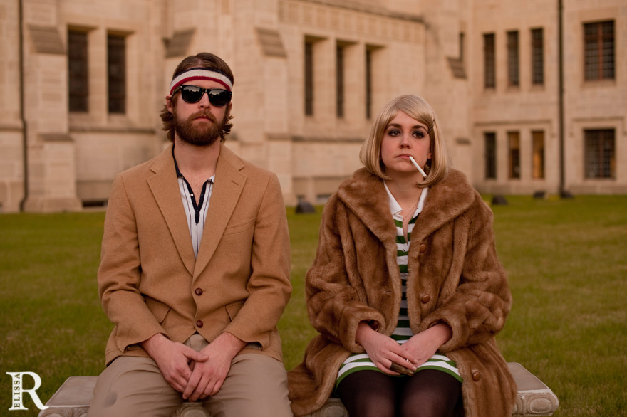 Rachelle & Stephen | Royal Tenenbaums Inspired Session ...