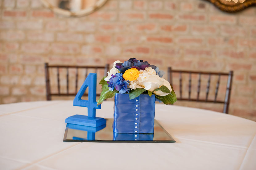 silk flowers ribbon centerpieces handmade