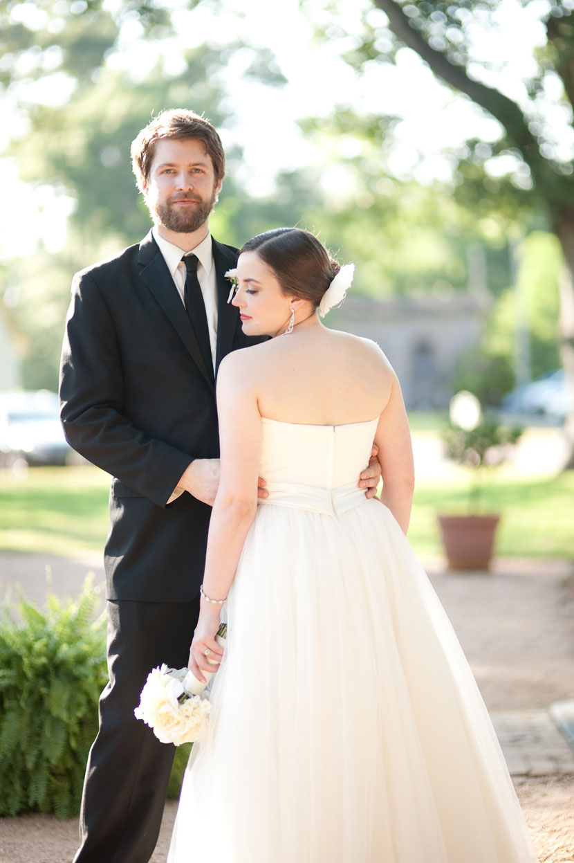 bride groom backlit warm sun portraits austin