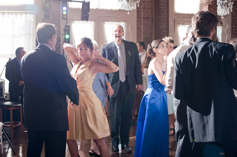 guests dancing wedding reception austin wedding photographer