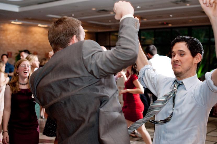 men showing bravado houston wedding photography