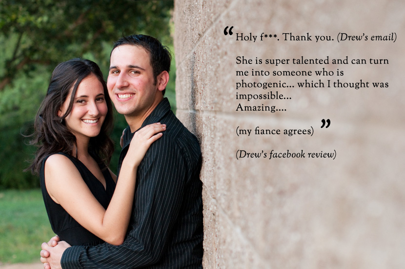 austin wedding photographer engagement session happy client review