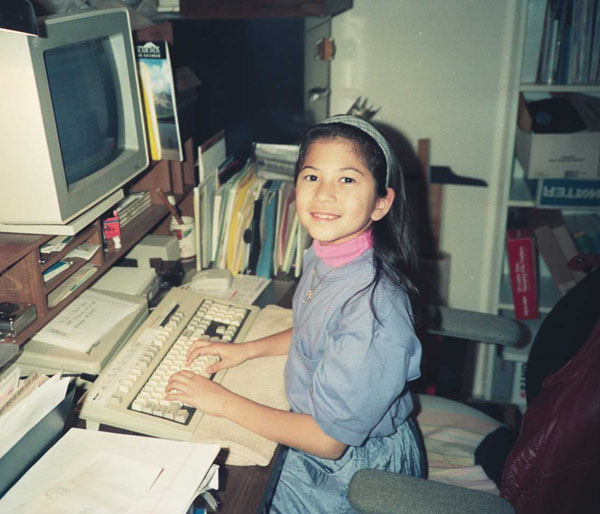1990s computer and fashion