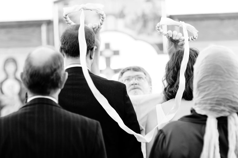 orthodox crowning wedding ceremony