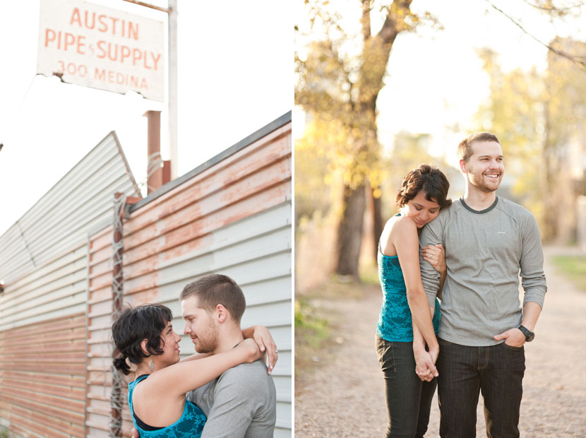 east austin engagement session pics