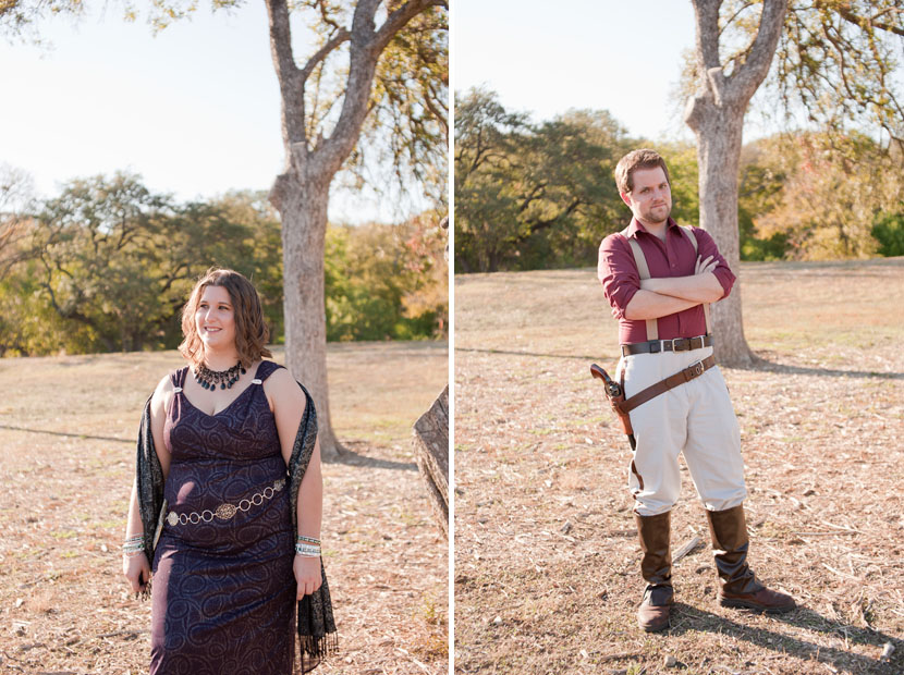 mal and inara fandom engagement session