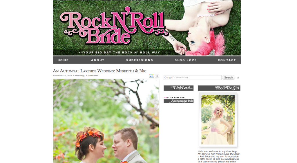 austin wedding photographer on rocknrollbride.com