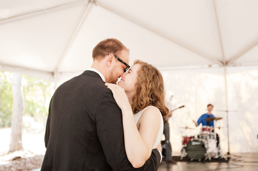 daytime first dance tent