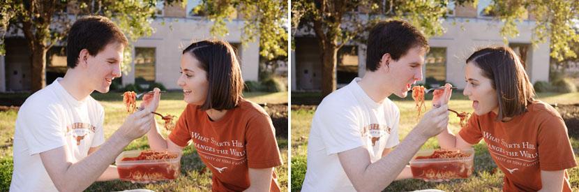 university of texas at austin spaghetti picnic photos