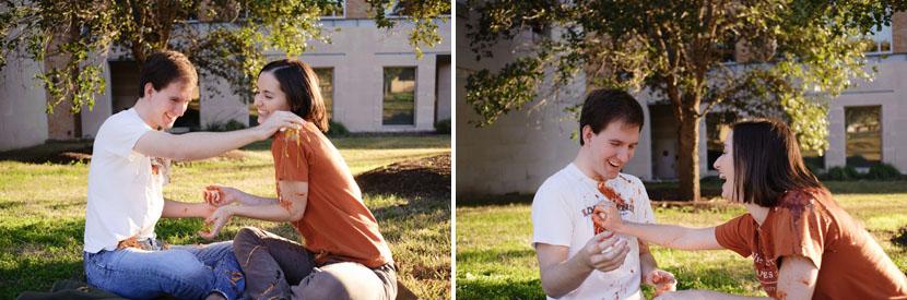 austin couple's engagement photography