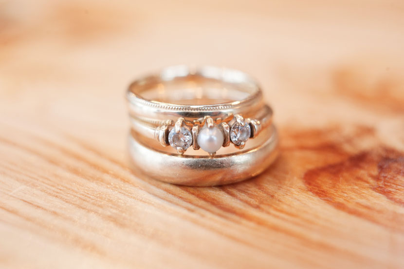 antique wedding rings at lutherhill ministries wedding