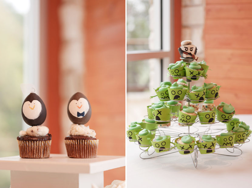 handmade diy wedding cupcakes