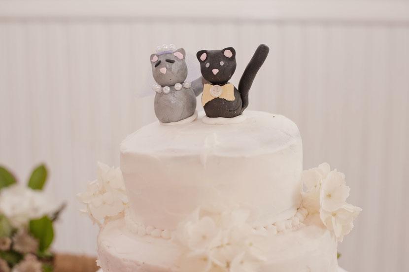 homemade cat cake topper diy cake