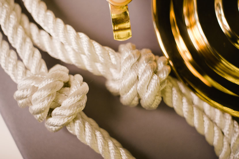 knotted rope for wedding tradition