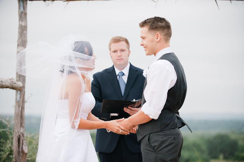 hill country wedding photos