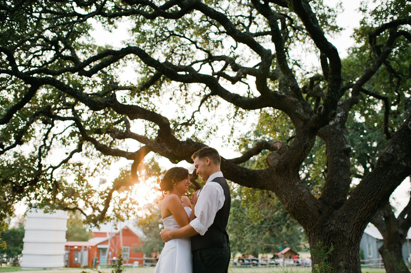 austin texas sunset wedding pictures