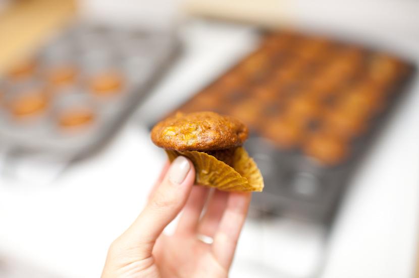 miniature muffins