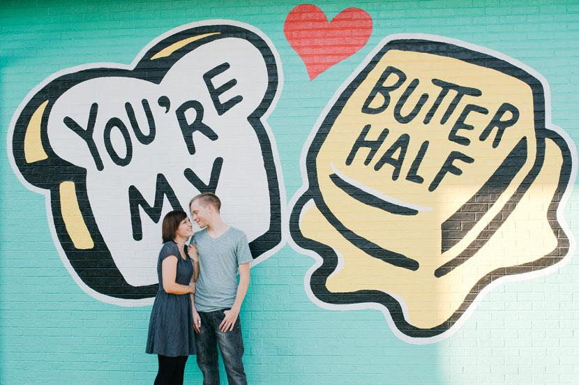 east austin engagement photos