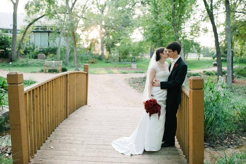 Connie John Umlauf Sculpture Garden Wedding Austin