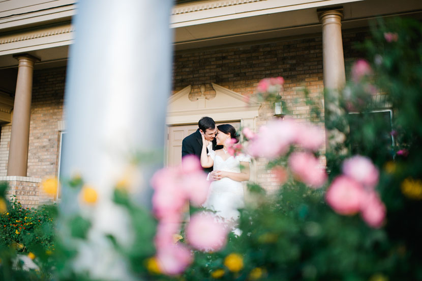 austin wedding day portrait