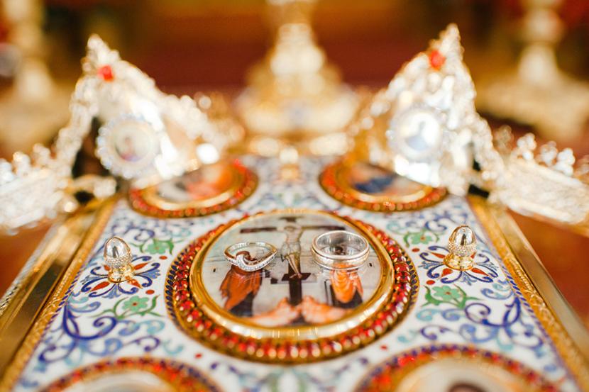 wedding crowns for orthodox christian wedding ceremony