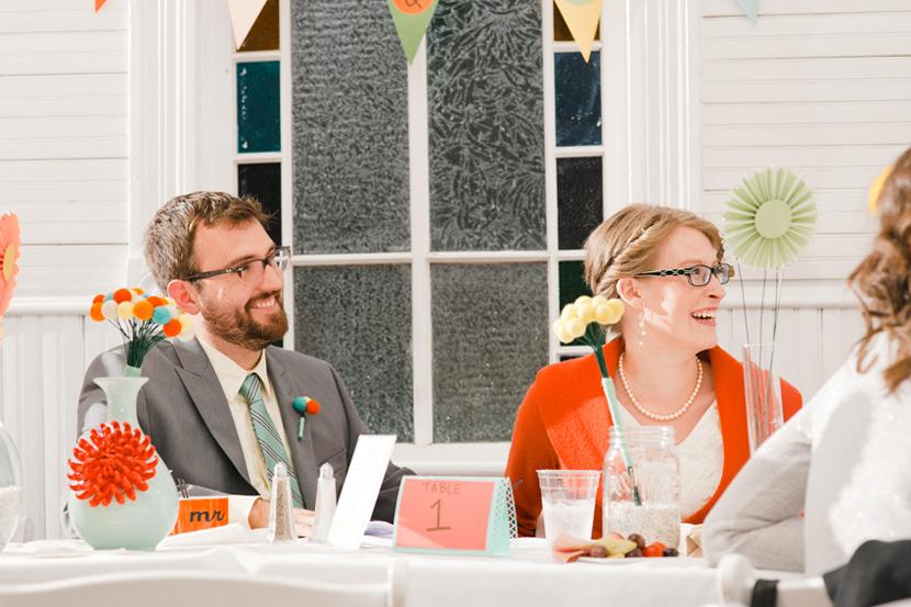 wedding toasts at mercury hall