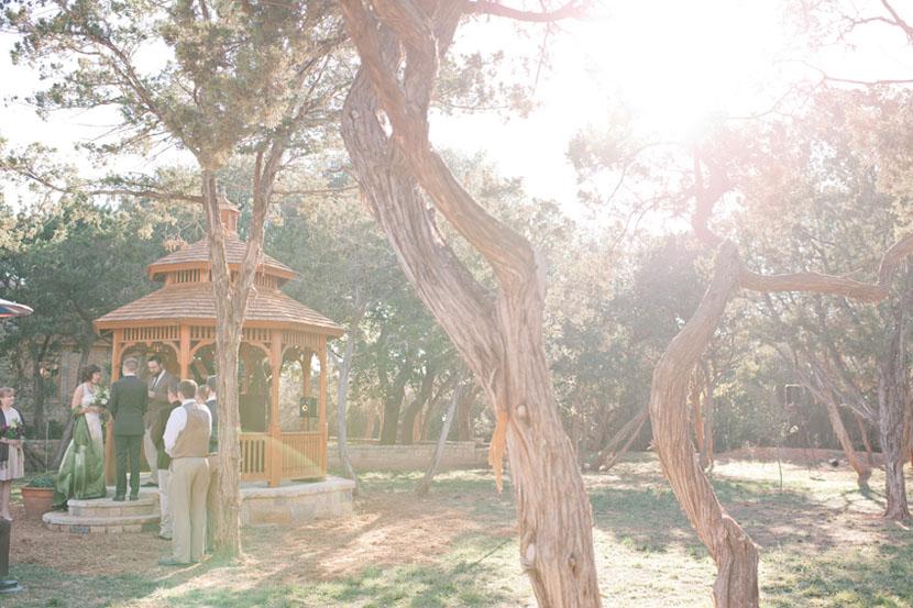 texas backyard wedding photos