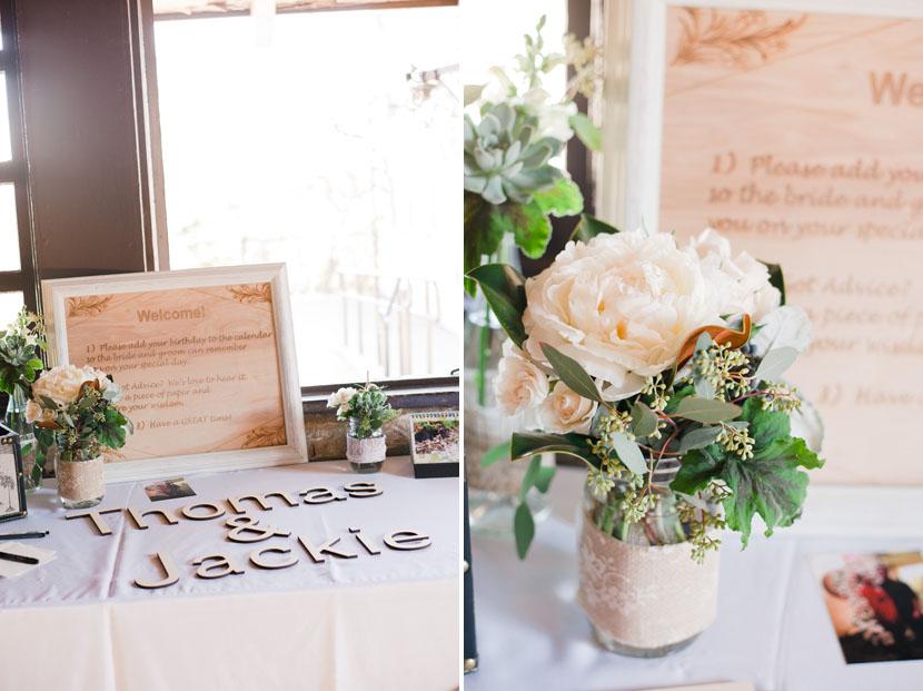 diy table decor for elopement