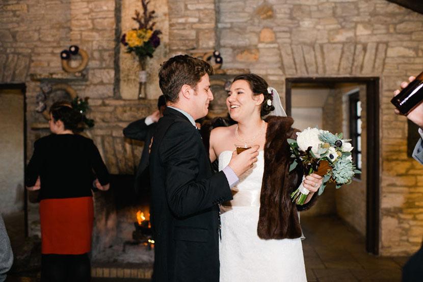 wedding reception in zilker clubhouse