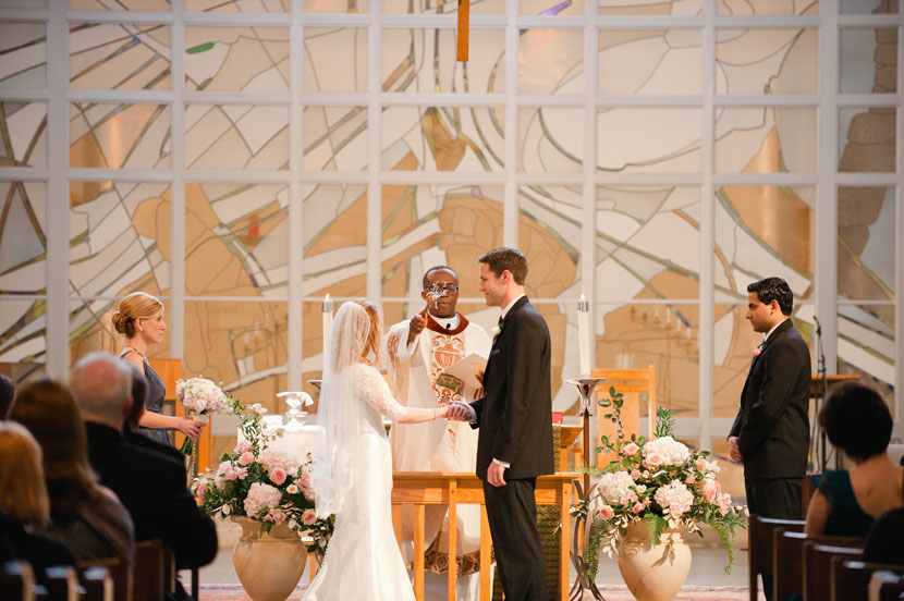 holy water during wedding ceremony