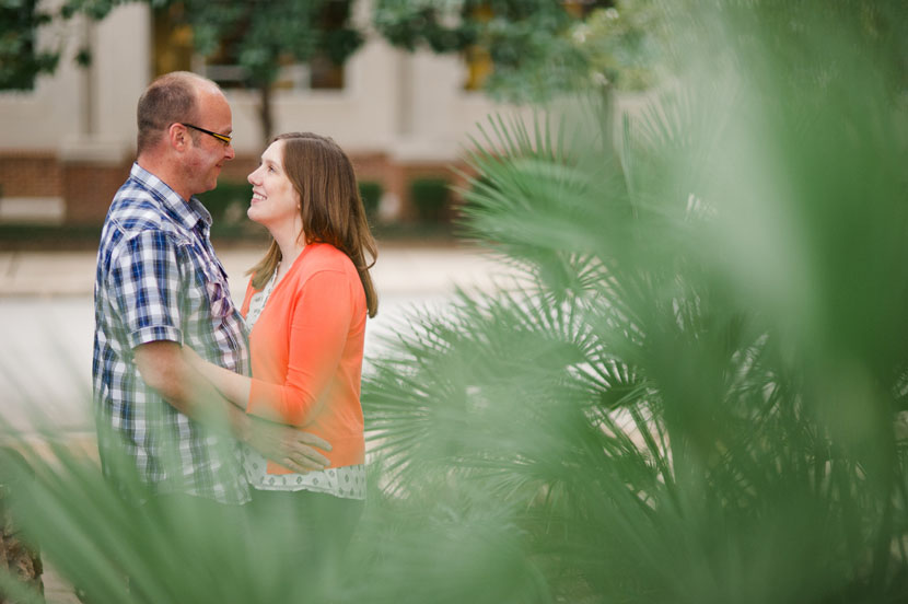 engagement session at bookpeople