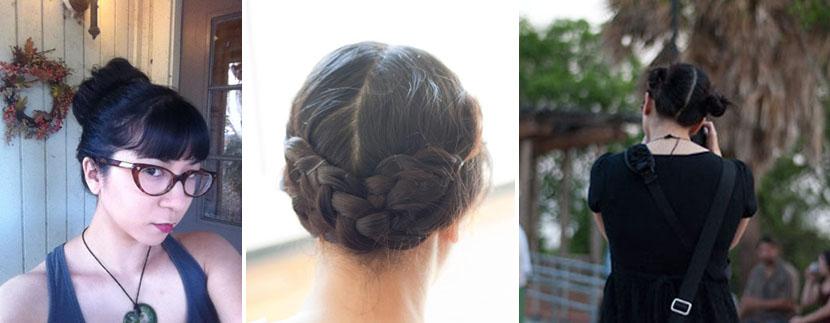 hair on wedding days