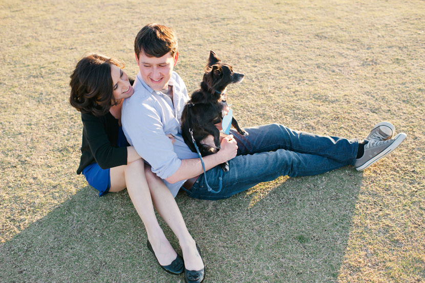 doggie engagement pictures