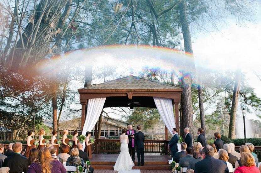 prisming the wedding ceremony