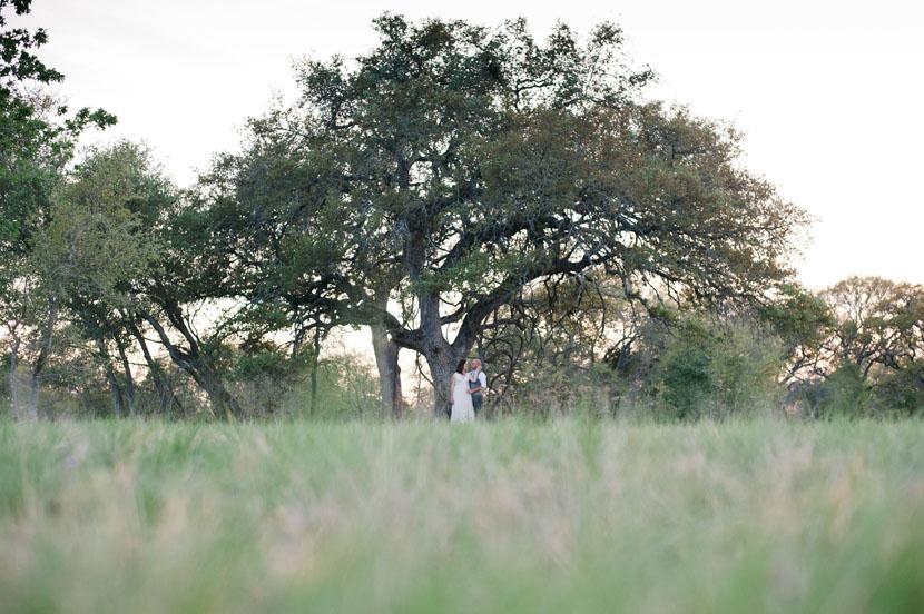 austin wildflower center bride groom portrait