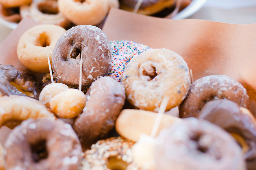 donuts for wedding cake