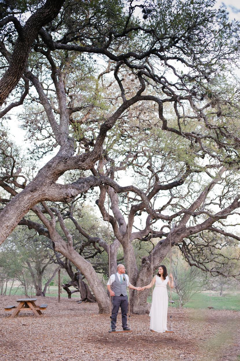 swingset wedding photos