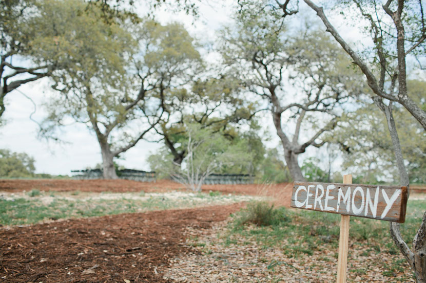 austin wildflower center arboretum wedding ceremony