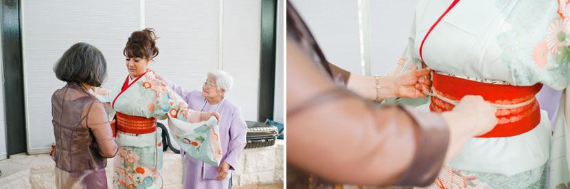 wedding kimono details