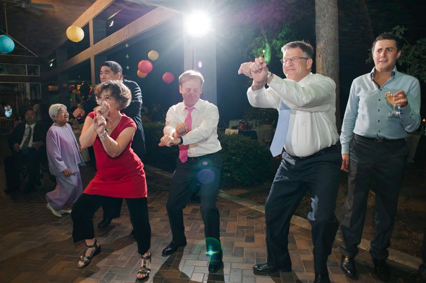 gangnam style at wedding reception