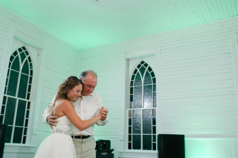 father daughter dance at mercury hall