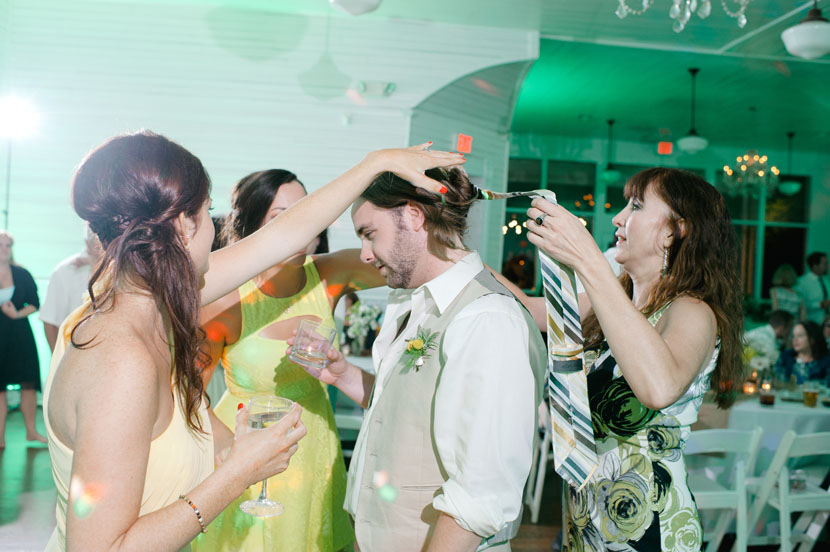 guests dancing at austin wedding