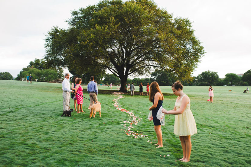 zilker park intimate wedding