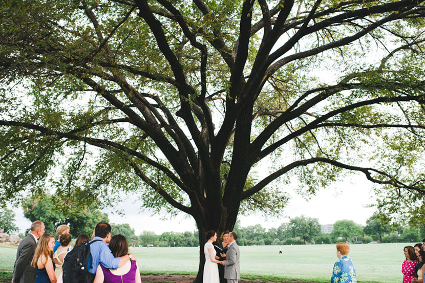 zilker park wedding