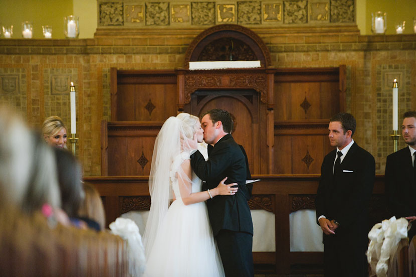 best wedding altar kisses