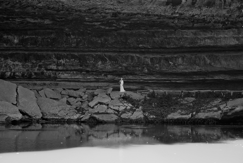 hamilton pool bridal session
