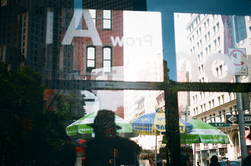 reflection in the flatiron district nyc