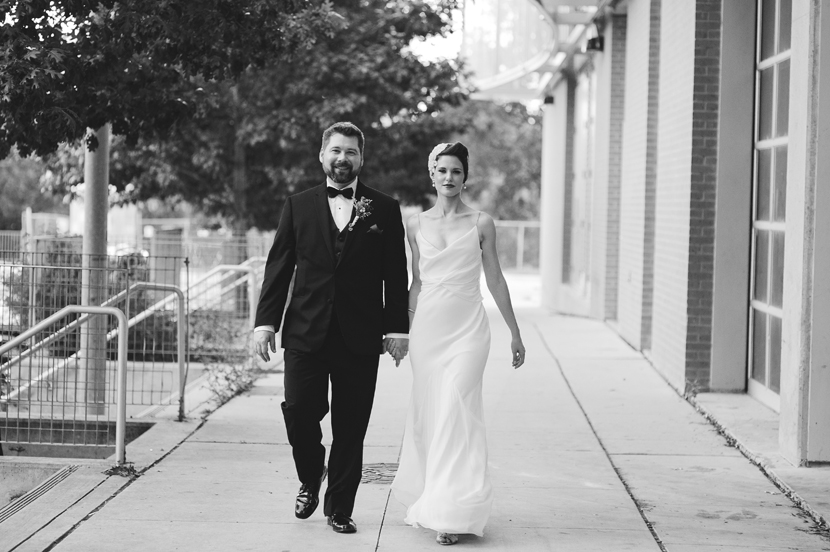 Downtown Austin wedding portraits // Elissa R Photography